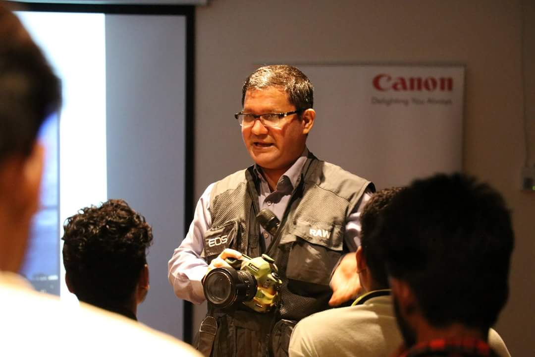 EOS Academy Photography Workshop By Canon
